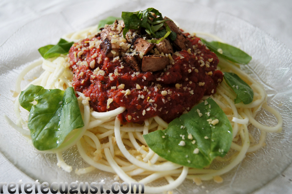 paste bolognese raw vegan